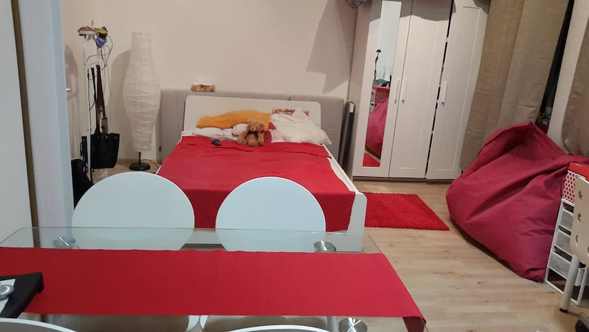 Small place but with doble bed neer to the center - Brno - Apartemen