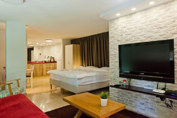 Luxury suite in the best, safest part of Tel Aviv.
