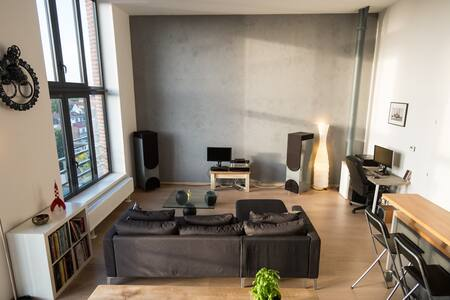 Cosy appartement, near city-center and stadium - Lille - Loft