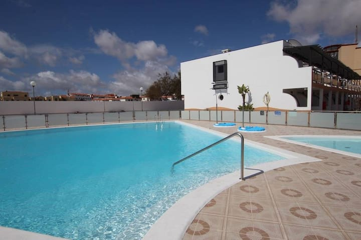 Bright apartment, relax in Fuerteventura