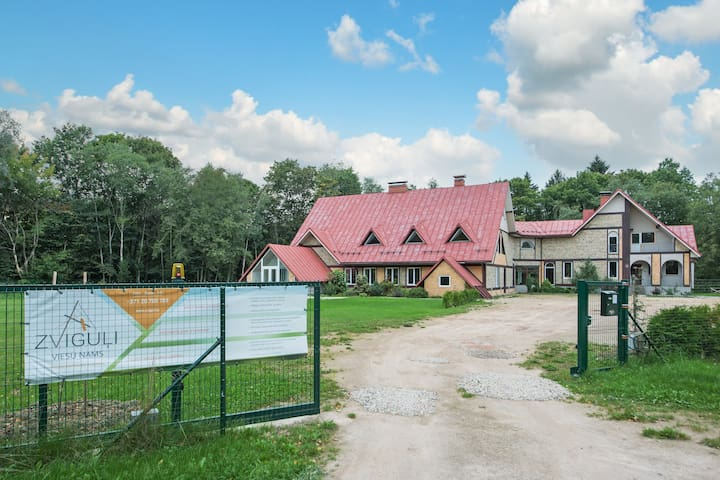 Guesthouse ''Zviguli'', shared bedroom