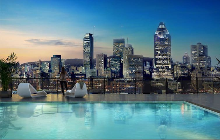 Luxury Condo Downtown Montreal - Montréal - Condominio