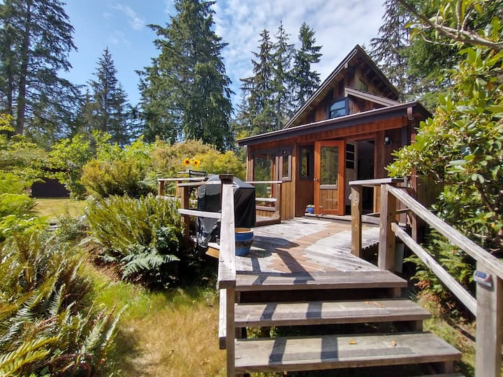 Milton Cottage on Quadra  Island