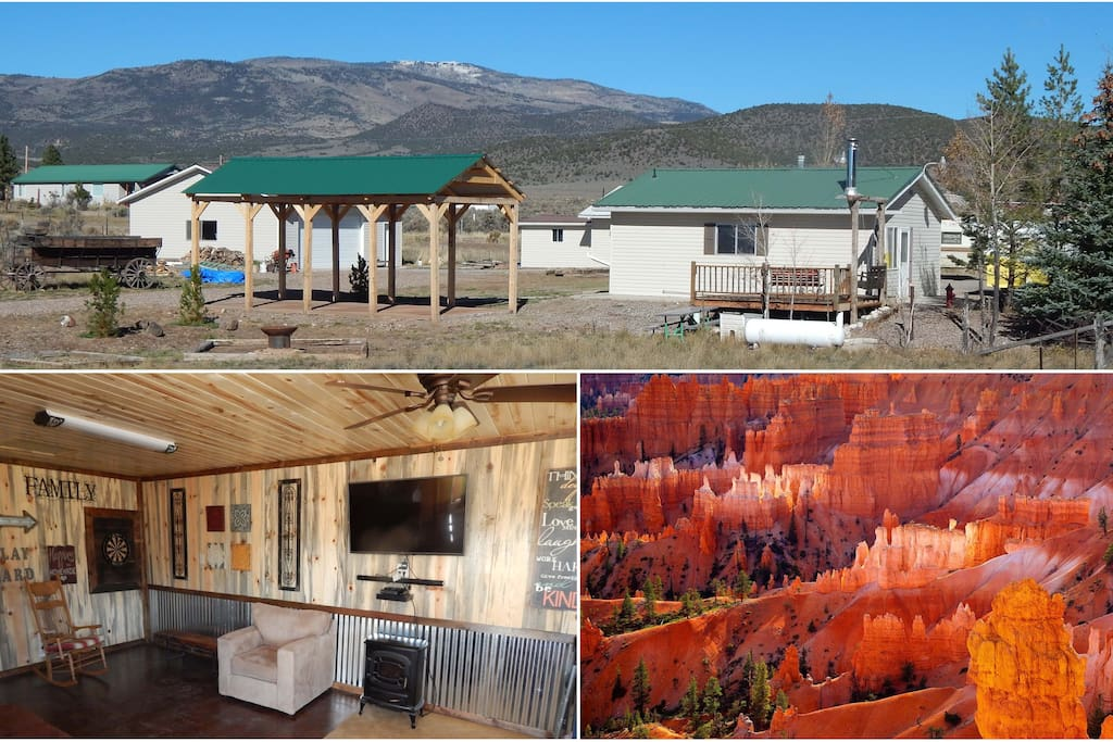 Koosh cabins bryce canyon capitol reef parks cabins for for Bryce canyon cabin rentals