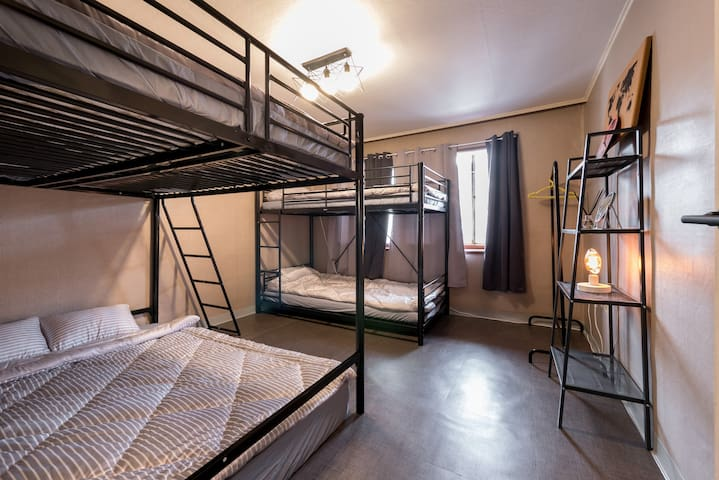D★QuestHouse★ 3mins From Station@QueenBed@Dorm!! - Mapo-gu - Bed & Breakfast