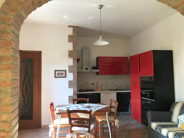 Nice apartment with Garden in Cecina