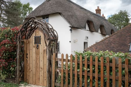 Thatched cottage annexe, West Heath, Hampshire.