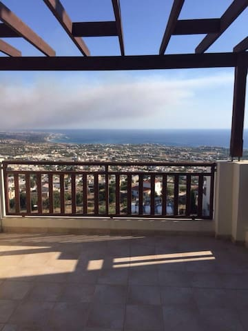 1 nice Studio with beautiful view - Paphos - Apartament
