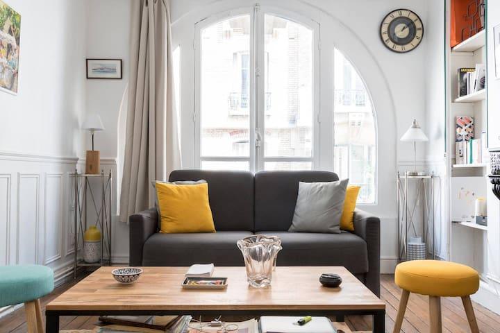 Magnifique appartement près de la tour Eiffel