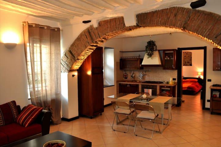 CASA LISA appartamento con giardino e posto auto