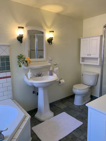 The Sun Porch Suite bathroom