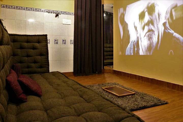 Cinema Hall in Bedroom