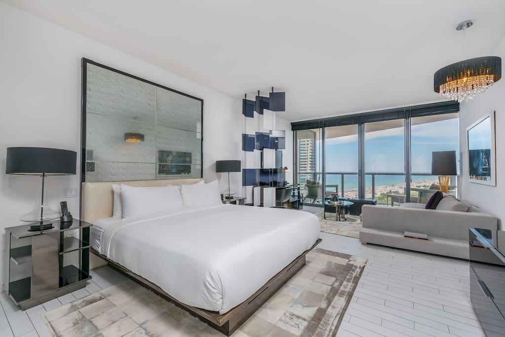 one bedroom apartments in miami fl ocean view studio at w hotel south beach 7051 fortuna