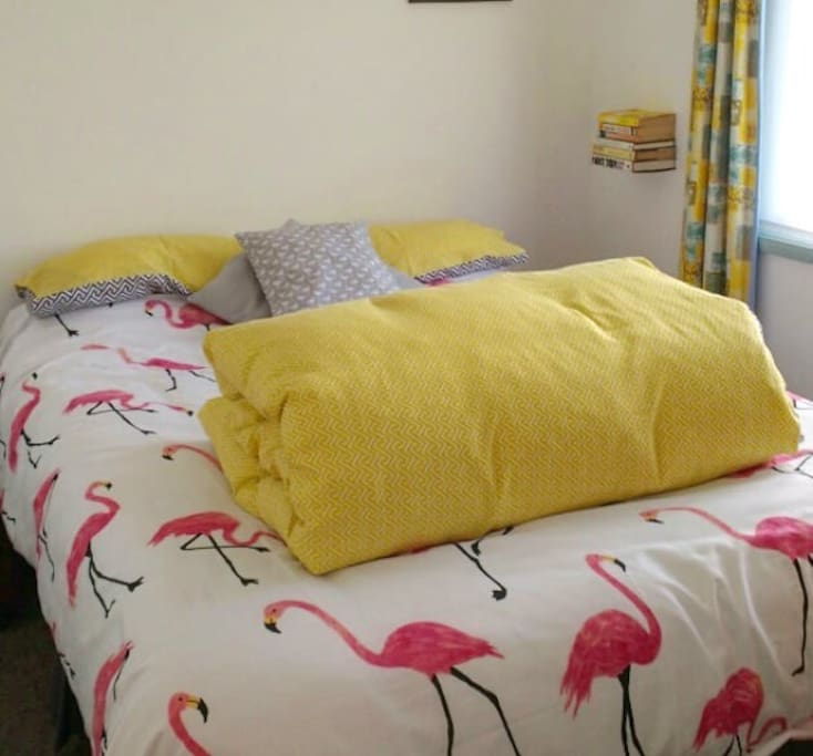 New deep medium firm pillow topped double bed