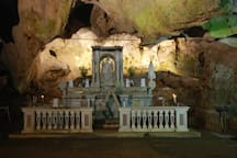 Sanctuary Praia Mare (Church in Cave of mountain) very old