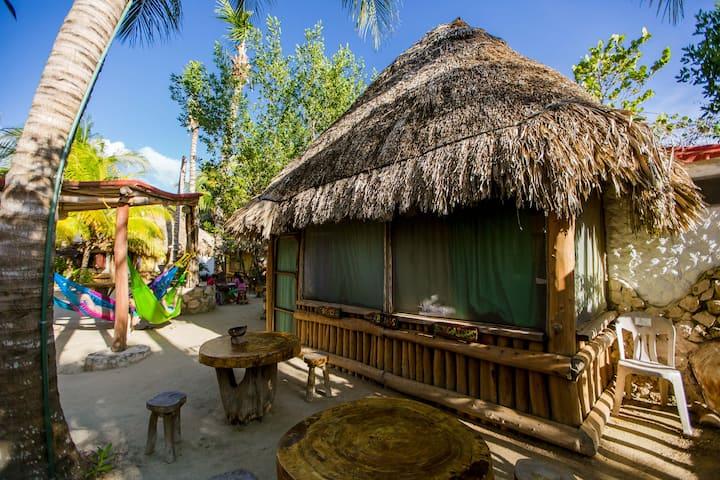 Cabana 1 · ECO CABANA A HOLBOX by HOTELITO IDA Y VUELTA (1)
