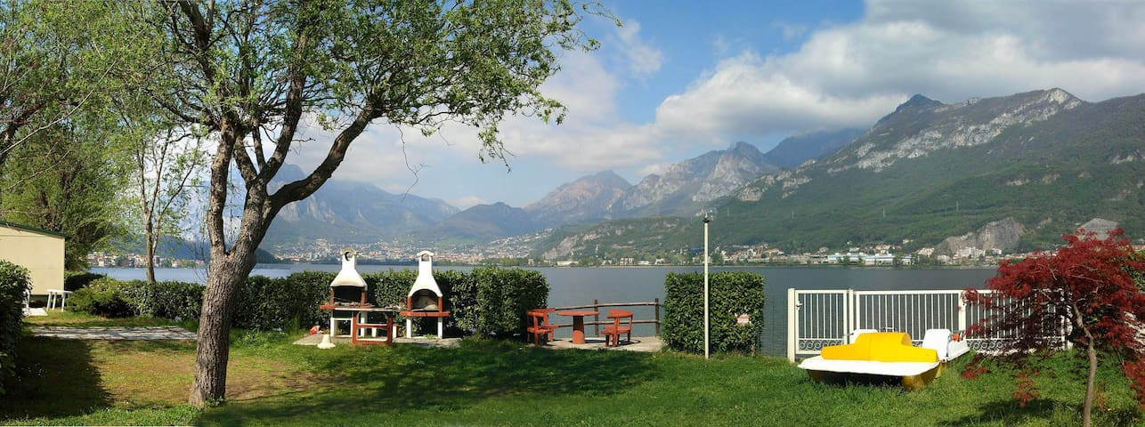 mobilhome lake of Como - Garlate