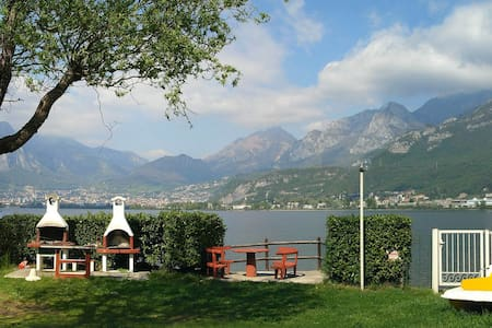 mobilhome lake of Como - Garlate - Bungalow