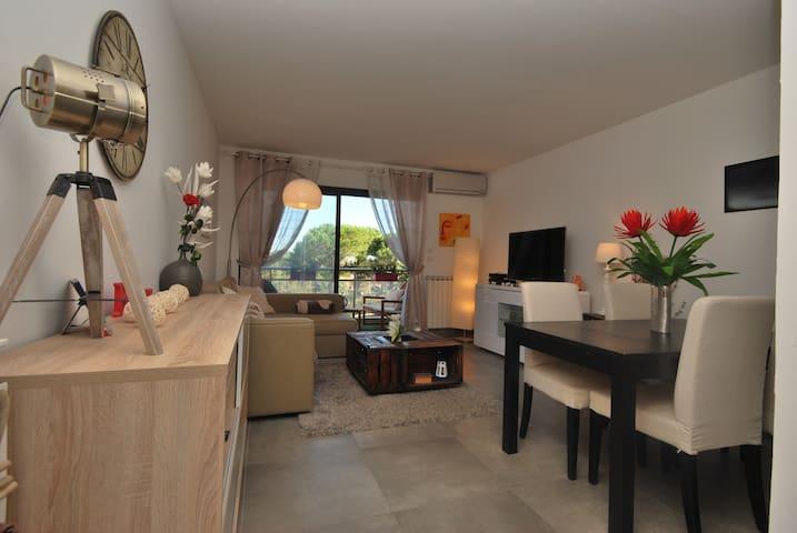 Bel appartement à 10 min des plages de Cannes