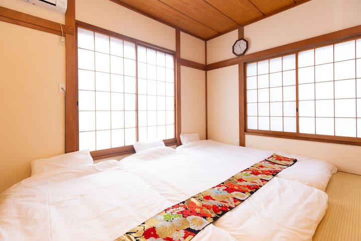 Japanese room on the second floor