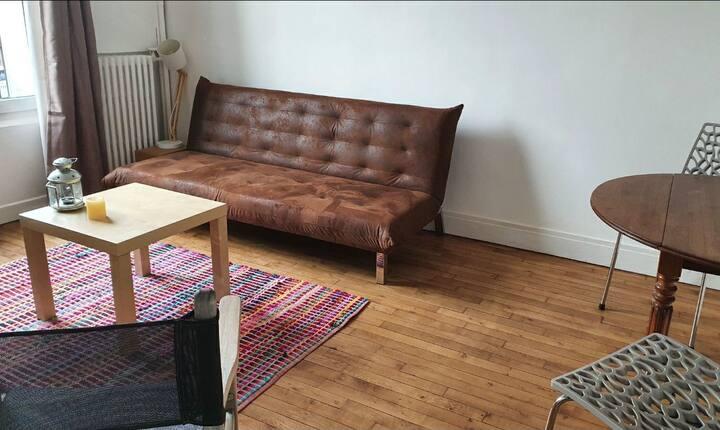 Appartement 2 pièces,entier cozy et très lumineux