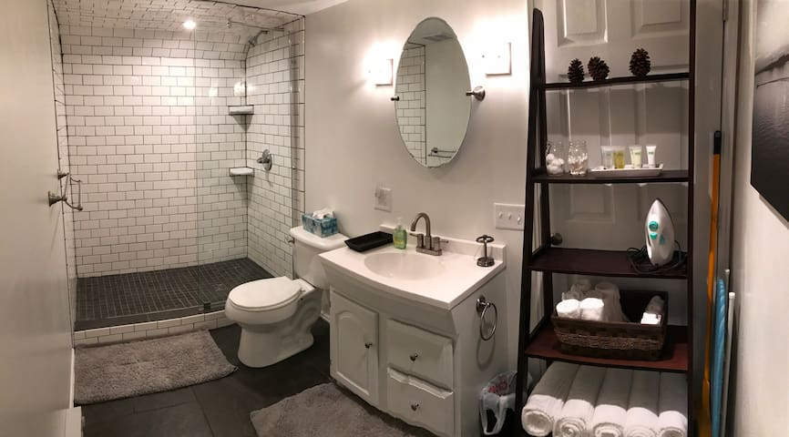 Bright and Modern Private Apt. Centrally Located