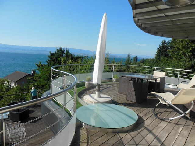 L'Escale - Fantastic view on the Geneva Lake - Thonon-les-Bains - Apartment