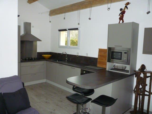 logement de 32 m² situé en campagne - Graveson