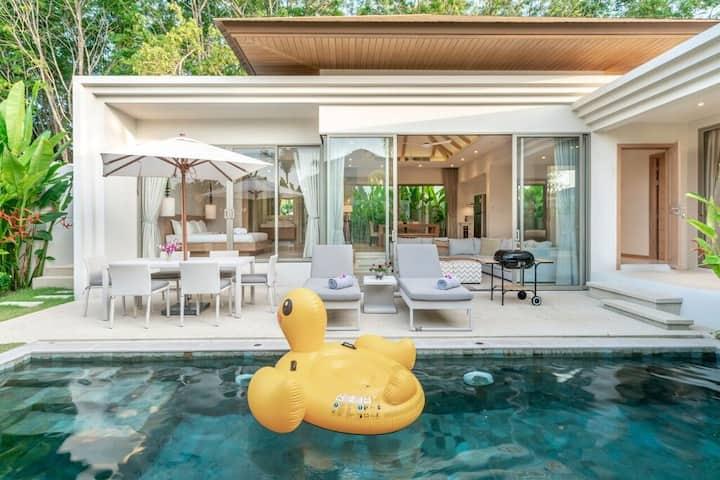 3Br pool villa near Bangtao and Laguna area [T18]