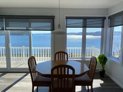 Maison avec vue splendide sur la Baie