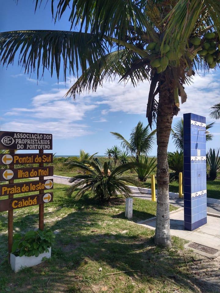 Casa de praia próxima ao mar!