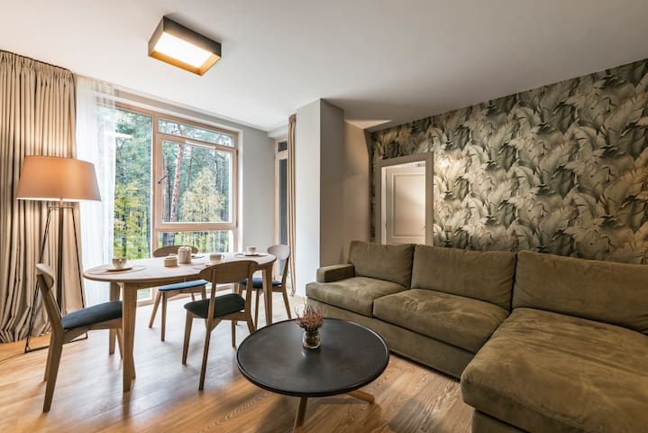Forest Apartment (2 bedrooms, 72 sq.m)