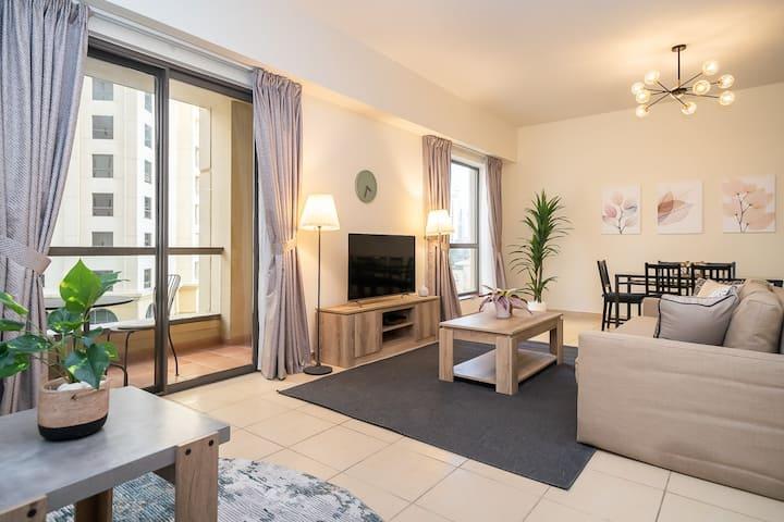 Stylish apartment in JBR