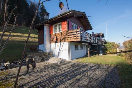 romantisches 2-Zi Ferienhaus oberhalb Ebnat-Kappel - Ebnat-Kappel - Rumah