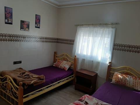 Appart 90 m² à Nador dans un quartier populaire
