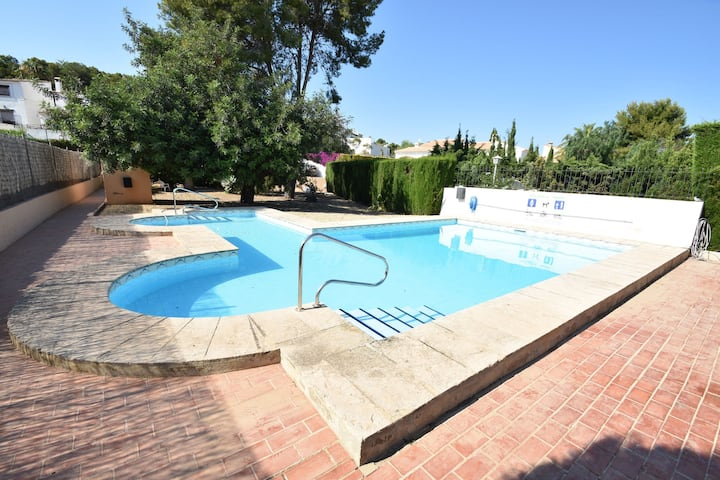 Typical Spanish house large pool in a small urbanization 900 meters from the sea