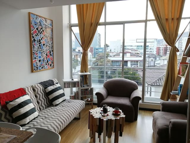 Departamento Loft - Plaza Foch - Descanso ideal
