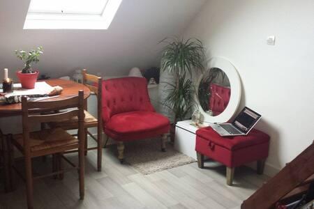 Petit appartement en duplex - Huoneisto