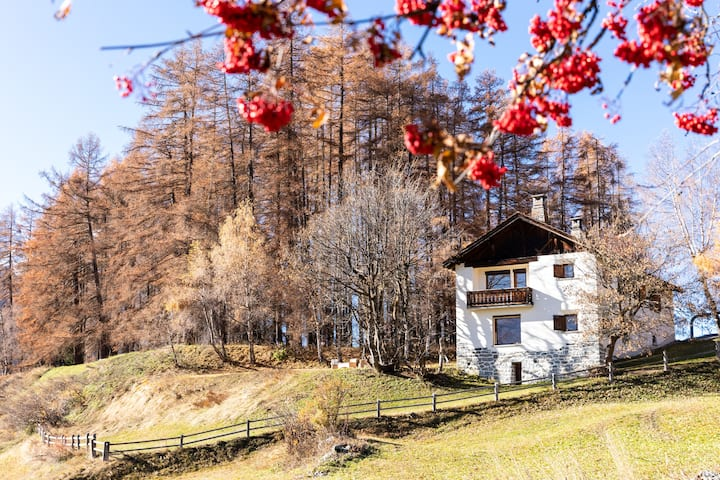 Flat Godin Freistehendes Ferienhaus in Bos-cha