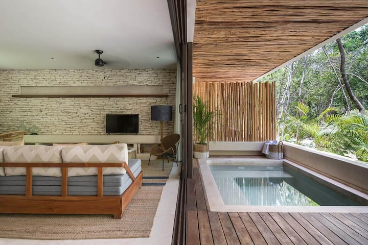 Brand New ☆ Copal Tulum Studio Jungle Private Pool