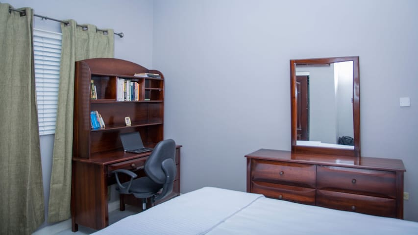 Bedroom #2 with Work Station area