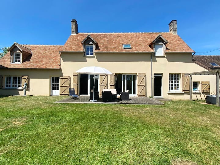 House with 4 bedrooms in Louvigny, with enclosed garden and WiFi