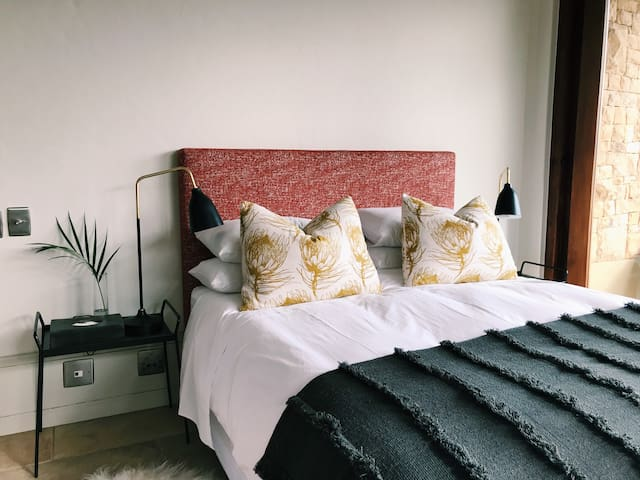 Our recently refurbished rooms have all the amenities you would want of a luxury, off the grid hide away