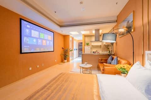 """Metro Guchi """"Giant curtain private cinema + huge floor to ceiling windows"""" Gugong/Wangfujing/Tiananmen/Kyongwangfu/Quhai Bar"""