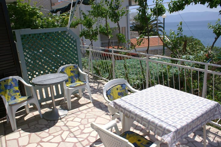 Studio Appartement mit Terrasse und Meerblick Podaca (Makarska) (AS-2711-a)