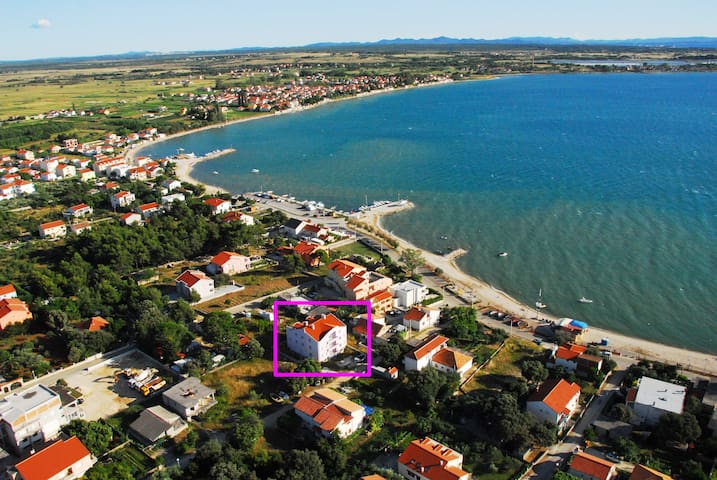 ABC Apartmani, sea view - Vrsi - Apartment