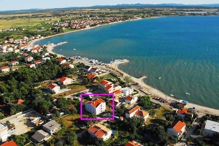 ABC Apartmani, sea view - Vrsi - Huoneisto