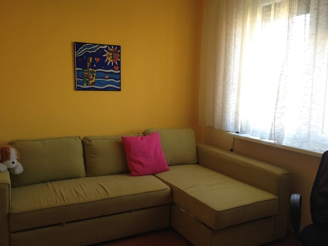 Nice sunny room. Good access to city centre - Bratislava - Wohnung