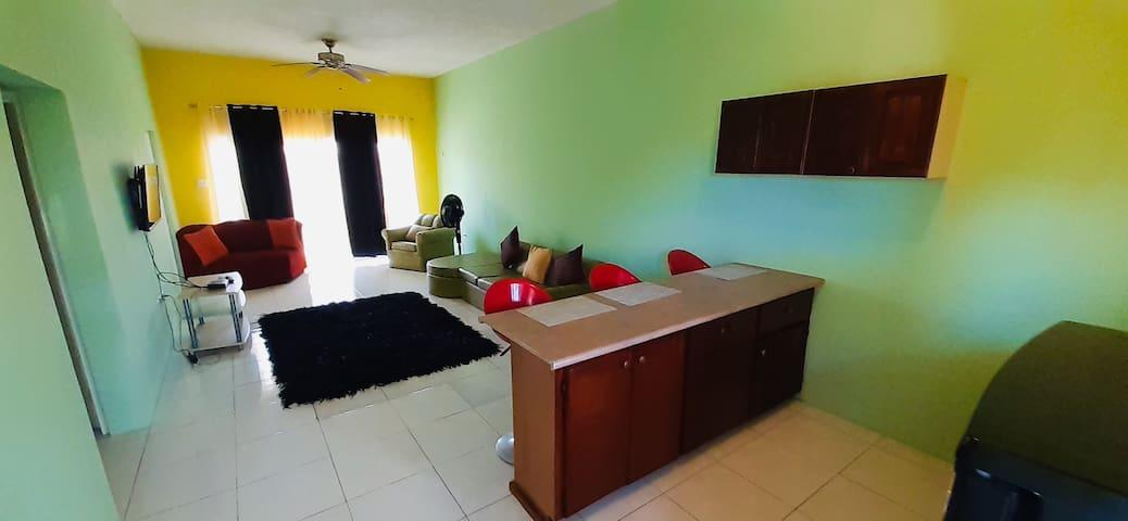 GreenSkies Tower Isles Jamaica - 1 Bedroom
