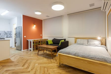 Homey and equipped renovated studio - Kefar Sava - Lägenhet